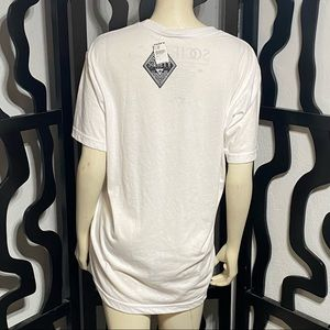 Society Shirts - Society White Graphic Tee Tillys NWT